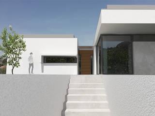 Habitação Uni familiar Areeiro Casas modernas por Em Paralelo Moderno