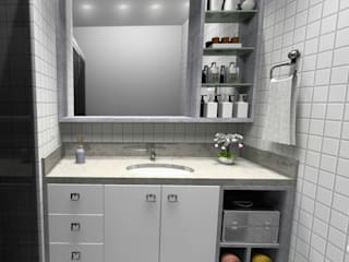 Banheiro por Cezar Senra Arquitetura de Interiores