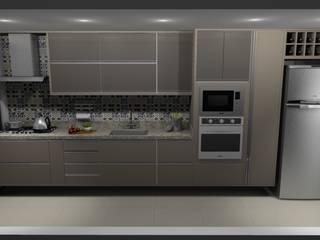 Cozinha por Cezar Senra Arquitetura de Interiores