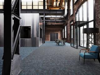 Ковровая плитка Desso Jeans Original: Офисы и магазины в . Автор – TED-SHOWROOM