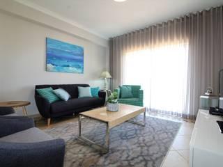 Casa Algarve -Zen Attitude Salas de estar ecléticas por Ana Leonor Rocha Eclético