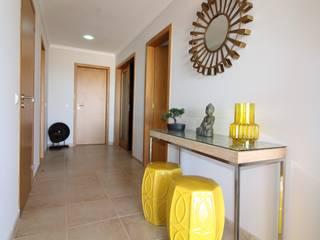 Casa Algarve -Zen Attitude Corredores, halls e escadas ecléticos por Atelier Ana Leonor Rocha Eclético