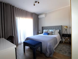 Casa Algarve -Romantic CHIC Quartos ecléticos por Atelier Ana Leonor Rocha Eclético