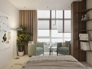 FOR YOU & ME Tobi Architects Minimalist bedroom