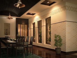 Private palace - Saudi Arabia Classic style dining room by SPACES Architects Planners Engineers Classic