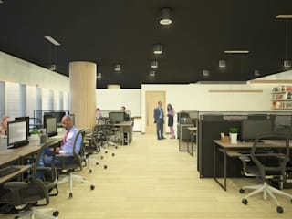 Office buildings by DW Interiors,