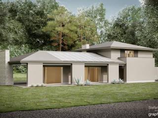 Casa IAGO (Maniago PN) di GRAPHOS_DS Moderno