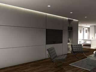Apartamento en el centro de Sevilla. Dormitorios de estilo moderno de Interiorismo Conceptual estudio Moderno