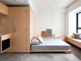 Recámaras de estilo moderno por ODVO Arquitetura e Urbanismo