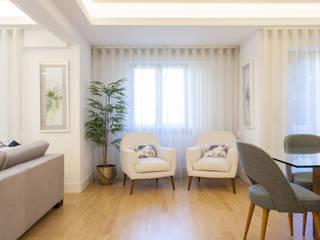 Apartamento c/ 2 quartos - Avenidas Novas, Lisboa por Traço Magenta - Design de Interiores Moderno