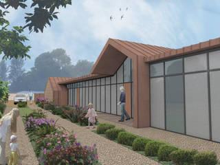 Walled Garden House - Horndean dwell design บ้านและที่อยู่อาศัย