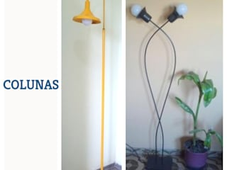 COLUNAS:   por Haja Luz Iluminação,Moderno