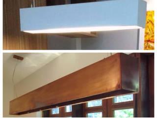CALHAS:   por Haja Luz Iluminação,Moderno