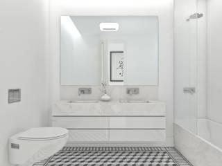 Bacalhoeiros 99 - Stone Capital Casas de banho modernas por Onstudio Lda Moderno