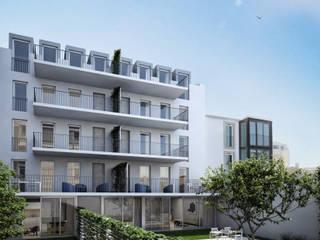 Conde 35 - Stone Capital Casas modernas por Onstudio Lda Moderno