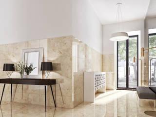 Duque de Loulé 42 - Estoril Real Estate Corredores, halls e escadas modernos por Onstudio Lda Moderno