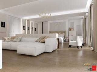 Camera padronale con bagno privato: Camera da letto in stile in stile Classico di MELLINACORTISTUDIO