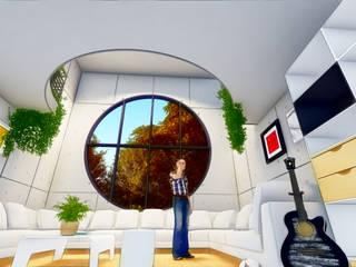 Villa - Interiores:   por BIM-North