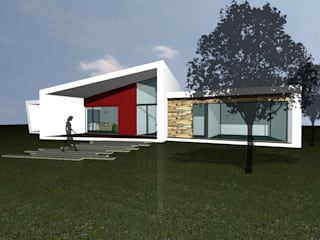 Vasco & Poças - Arquitetura e Engenharia, lda Modern houses