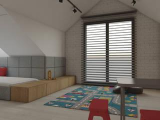 Pokoje dla chłopców: styl , w kategorii  zaprojektowany przez DCODE Emilia Krysińska,