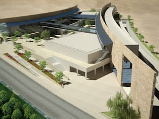 J.U.S.T complex of halls - Jordan by SPACES Architects Planners Engineers Modern