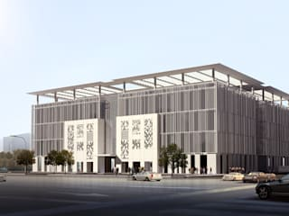 Takassusi Office Building - Riyadh, Saudi Arabia by SPACES Architects Planners Engineers Modern