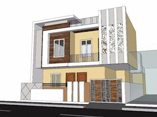 Front elevation :   by Aditya shrivastava