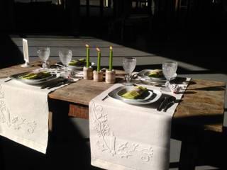 Mesas de Natal:   por Linho de Cerva e Limões