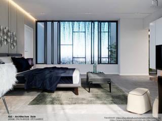 Dự án Biệt thự cao cấp Phòng ngủ phong cách hiện đại bởi AnS - Architecture Style Hiện đại