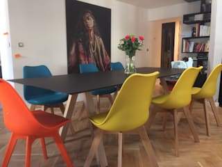 Projet de salle à manger Salle à manger moderne par Malouet Design Moderne