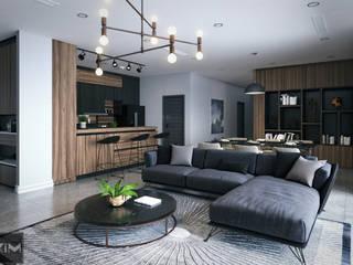 Dự án Wartermark:  Phòng khách by KIM - furniture