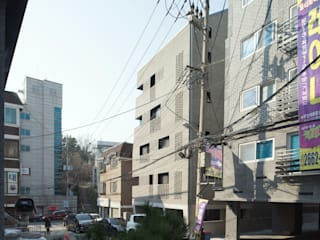 목동 동심원 모던스타일 주택 by 소수건축사사무소 모던