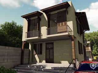 İkiz Villa - Balıkesir Hakan Özerdem - Mimari Proje Görselleştirme ve 3D Tasarım Villa
