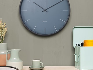 Karlsson Mist Clock - Blue:   by Just For Clocks