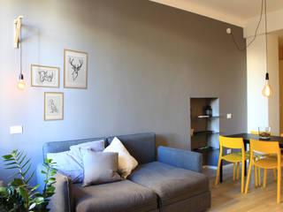 giorgio davide manzoni Scandinavian style living room Grey