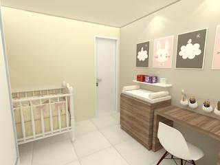 Quarto Filho 1402 Quarto infantil minimalista por Dayane Medeiro Arquitetura e Interiores Minimalista
