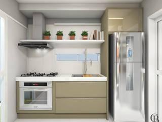 Dapur oleh Caroline Berto Arquitetura , Modern
