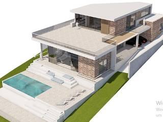 Villa in Ibiza for sale FHS Casas Prefabricadas Villa Beton Bertulang Multicolored