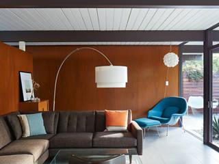 Mid-Mod Eichler Addition Remodel by Klopf Architecture Klopf Architecture Modern Living Room