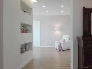 الممر والمدخل تنفيذ Sonia Santirocco architetto e home stager,