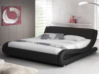 cama alessia en color negro de estilo de muebles bonitos sl - Muebles Bonitos
