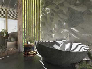 Итерьер SPA Ванная комната в тропическом стиле от ID project Тропический