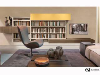 Sala Zalf: Salas de estar  por MY STUDIO HOME - Design de Interiores