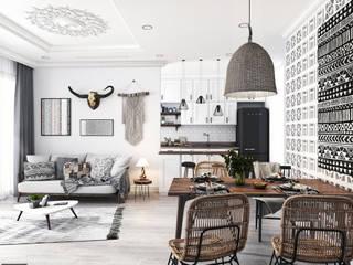 Dự án Vinhomes Gardenia:  Phòng ăn by KIM - furniture