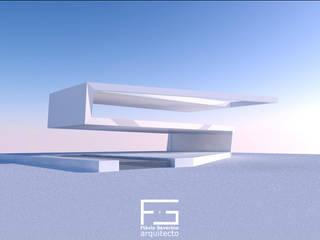 Casa Desdobrada por Flávio Severino, Arquitecto