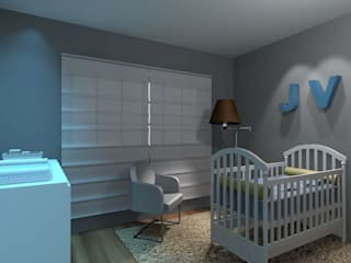 Baby room by Studio Bertoluci, Modern