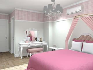 Girls Bedroom by Studio Bertoluci, Classic