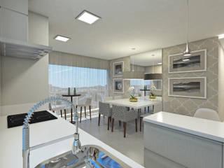 Residência BG Salas de jantar modernas por Skala Arquitetura e Engenharia Moderno