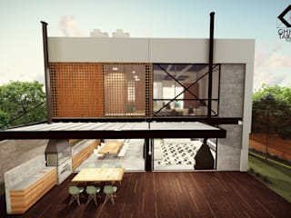 Prefabricated home by GhiorziTavares Arquitetura, Industrial