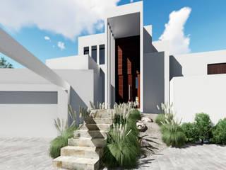 CASA PV: Casas de estilo  por NEF Arq.